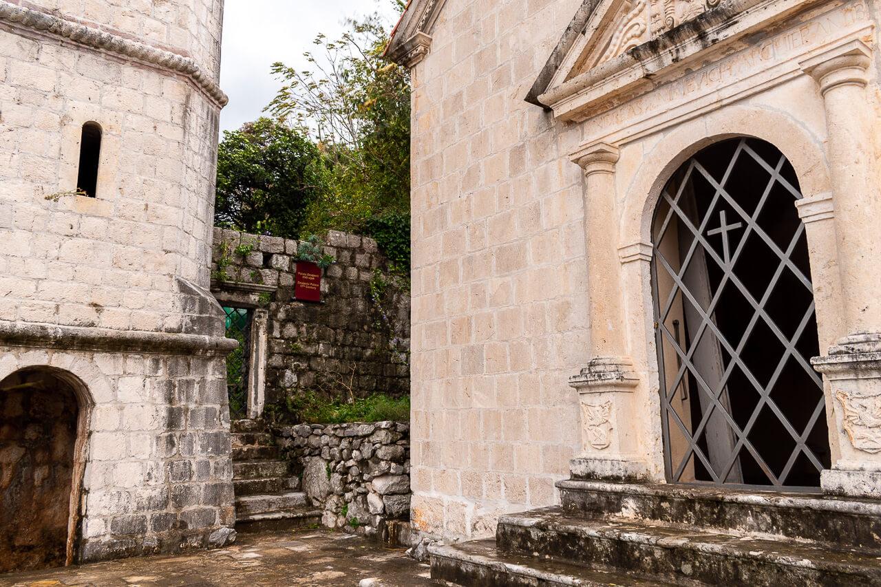 Пераст, Черногория: Церковь Девы Марии Розария