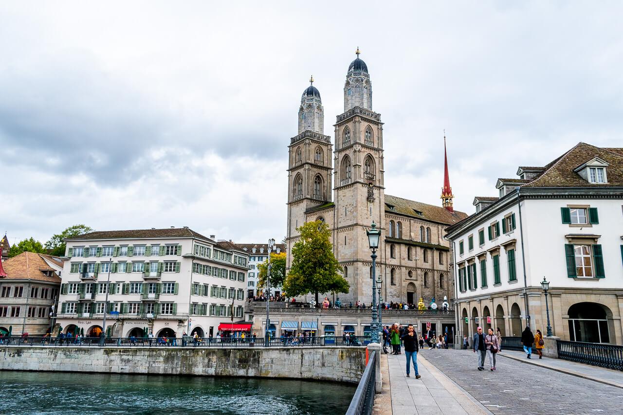 Цюрих, Швейцария: Гроссмюнстер