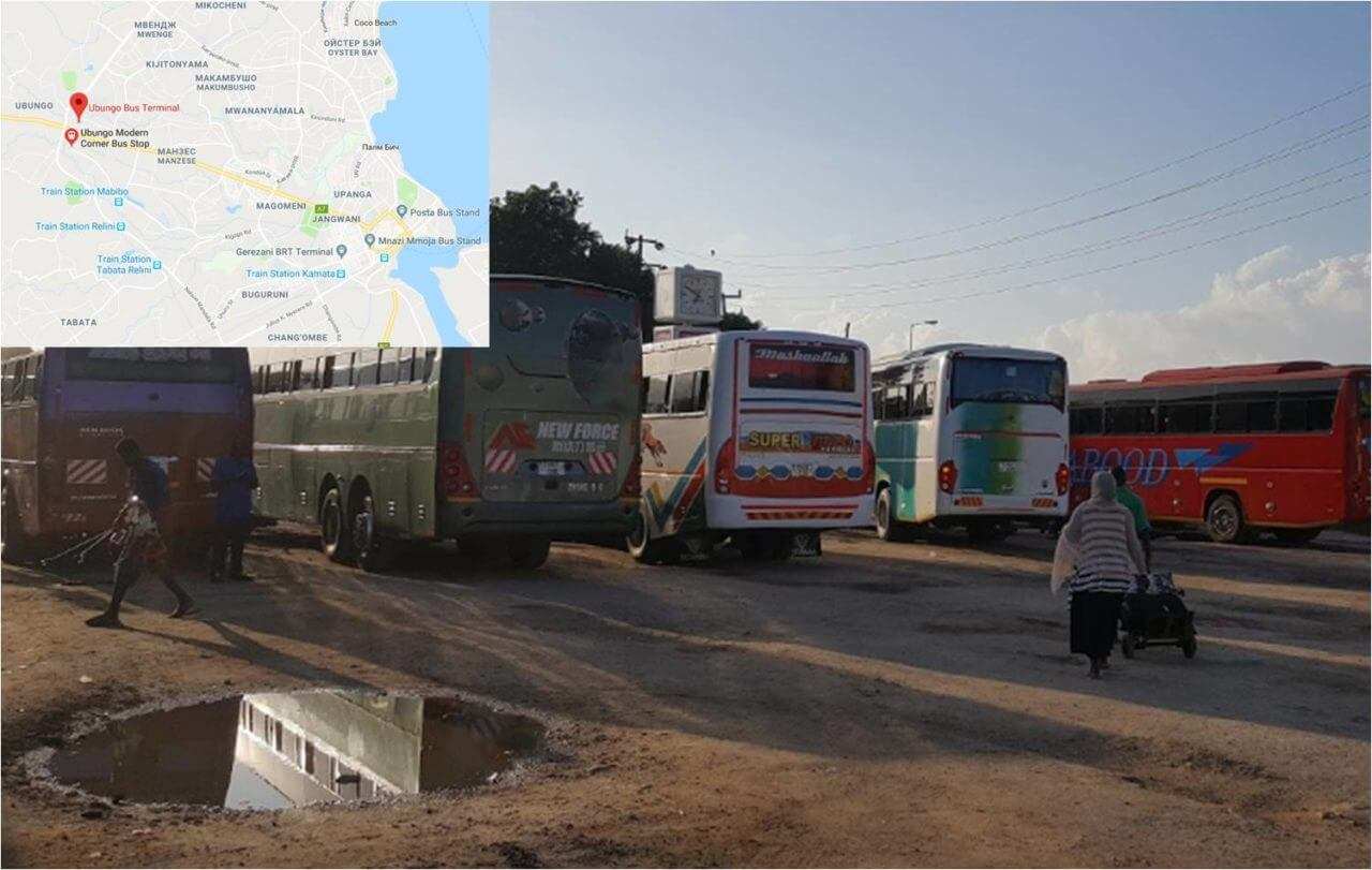 Автостанция в Дар-эс-Саламе
