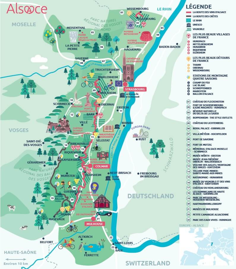 Винная дорога Эльзаса Оберне Оберне, Франция Alsace Wine Route
