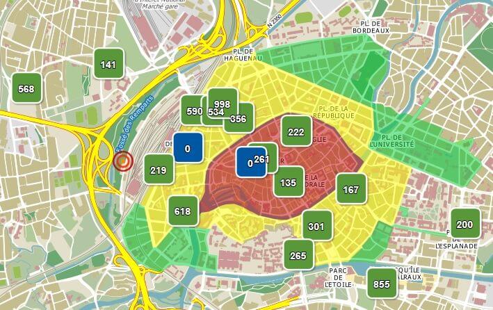 Парковки в Страсбурге