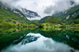 Озеро Тенно, Италия