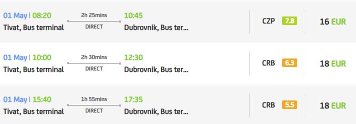 Дубровник, Хорватия Дубровник, Хорватия bus tivat dubrovnik