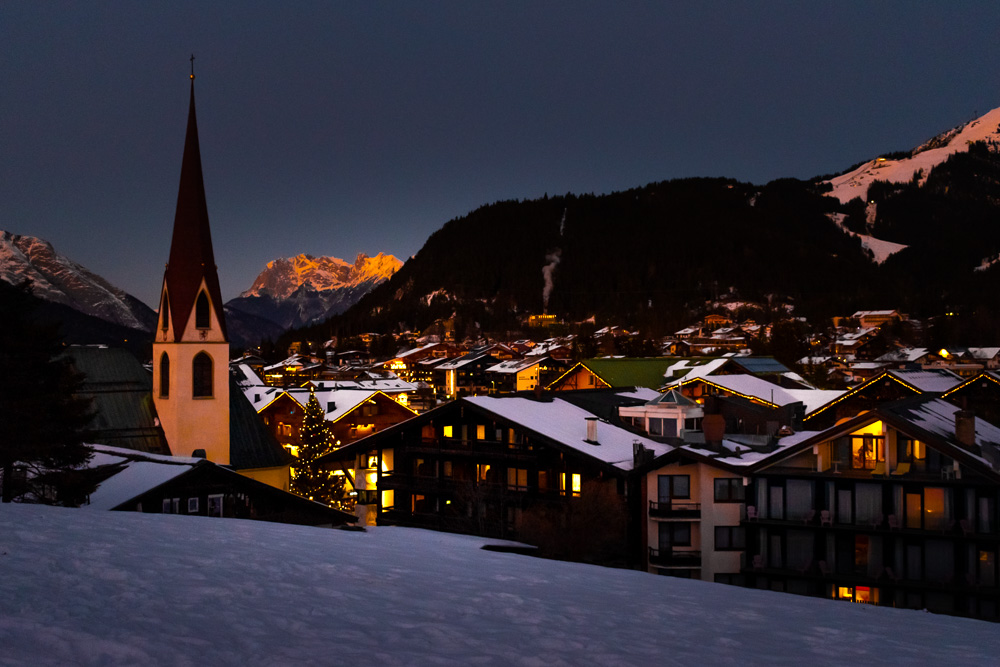 Зеефельд, Австрия: горнолыжный курорт