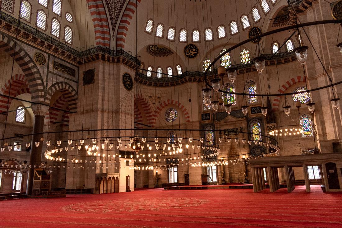 Стамбул за 3 дня: мечеть Сулеймание