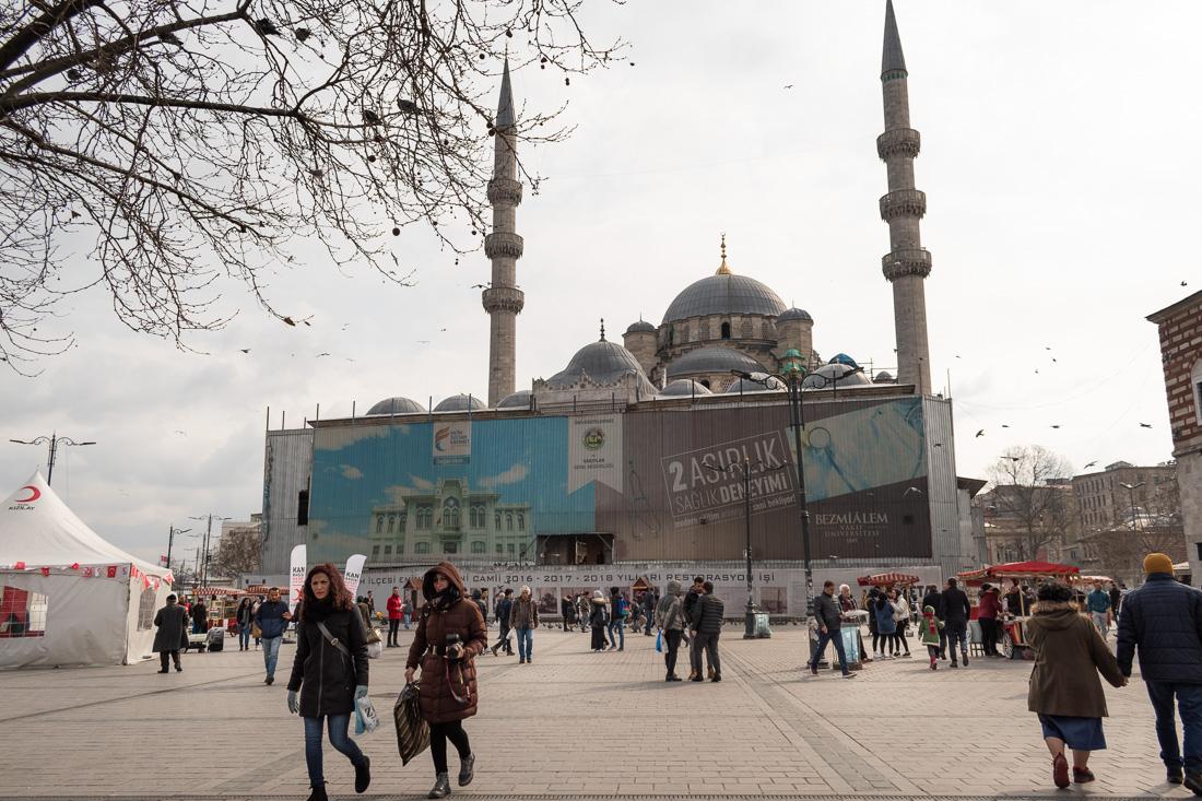 Стамбул за 3 дня: Новая мечеть