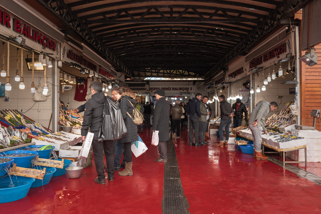 Стамбул за 3 дня: рыбный рынок Karakoy
