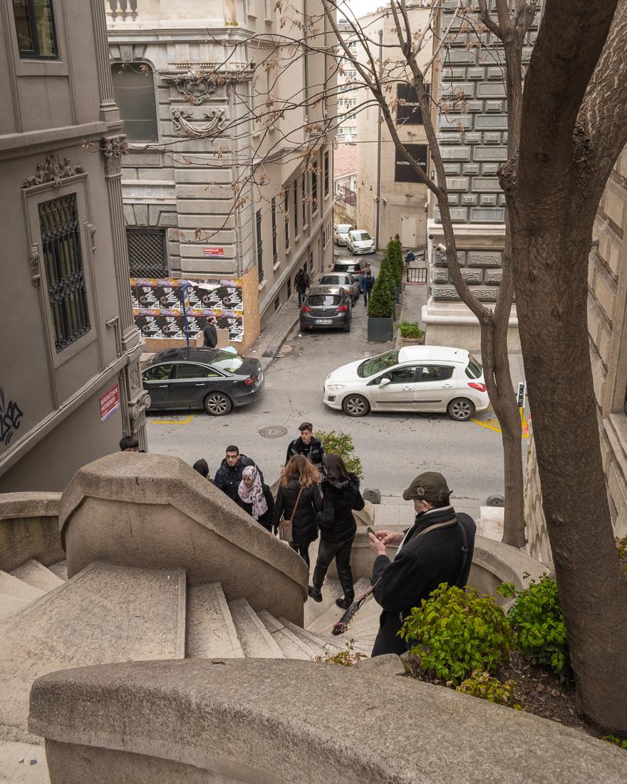 Стамбул за 3 дня: лестница Kamondo Stairs
