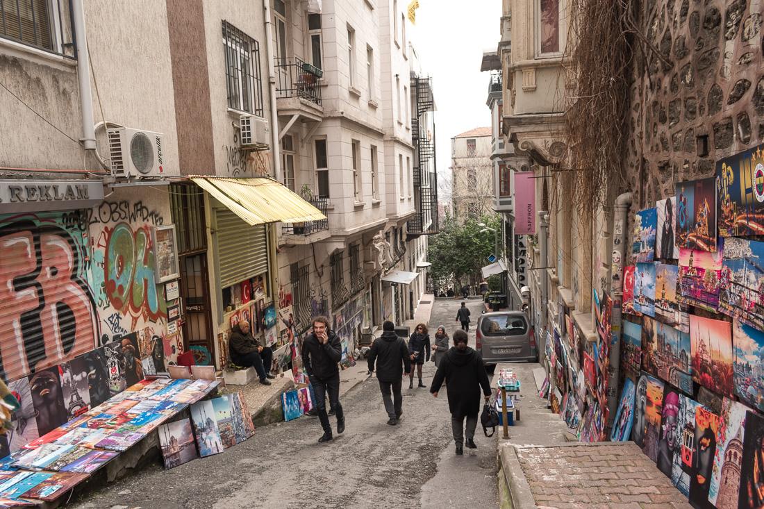 Стамбул за 3 дня: район Галата