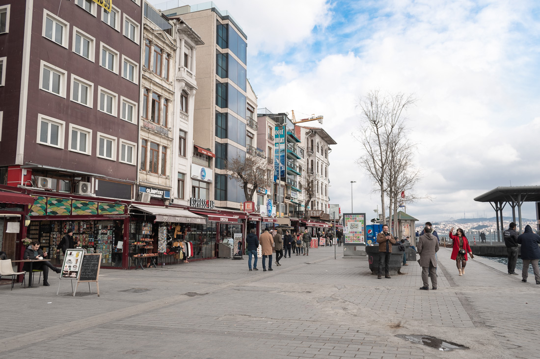 Стамбул за 3 дня: прис Karakoy