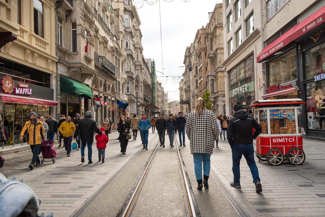 Стамбул за 3 дня: улица Istiklal street