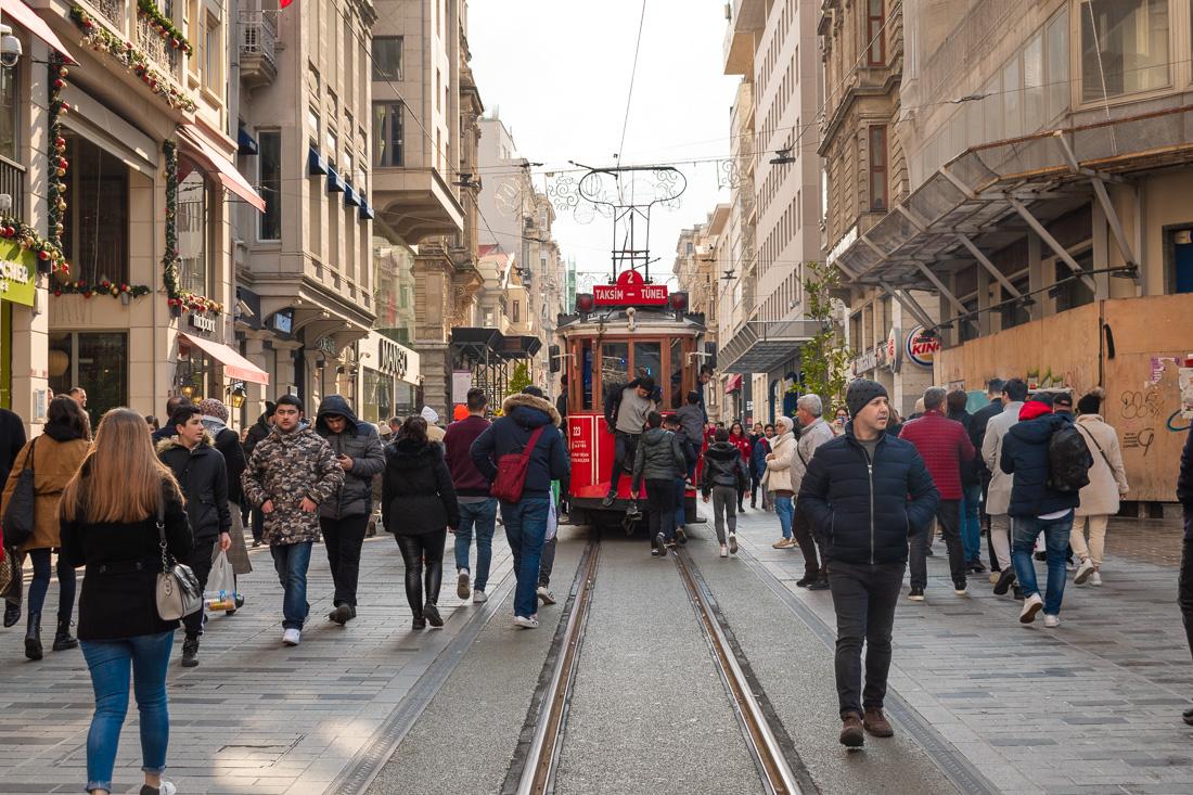 Стамбул за 3 дня: улица Istiklal