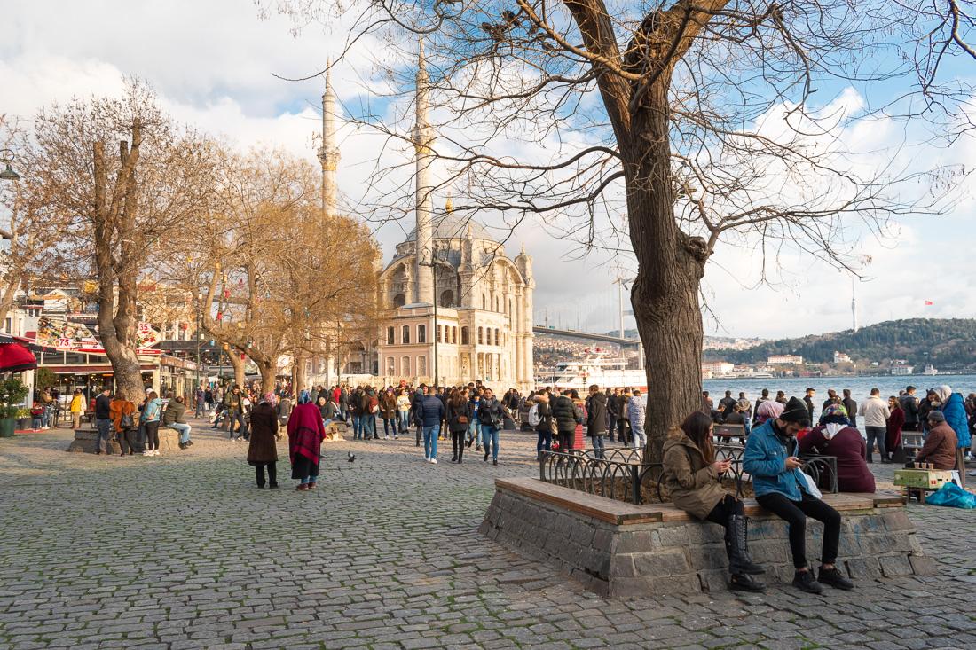 Стамбул за 3 дня: мечеть Ортакей