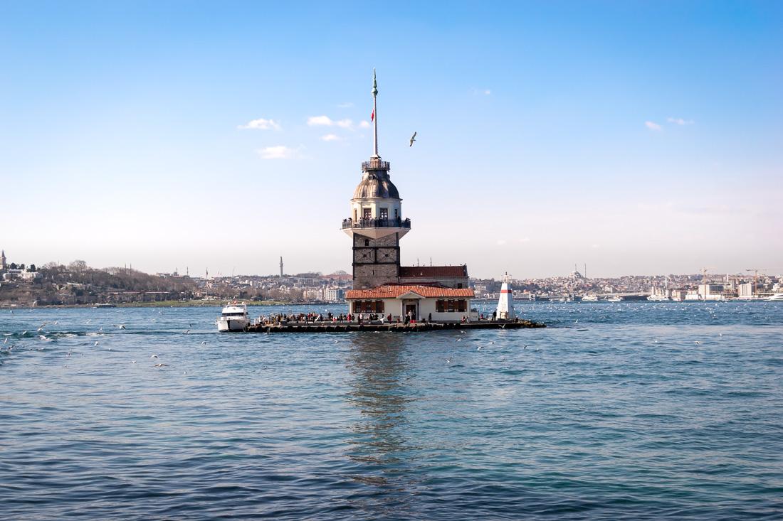 Стамбул за 3 дня: Девичья башня