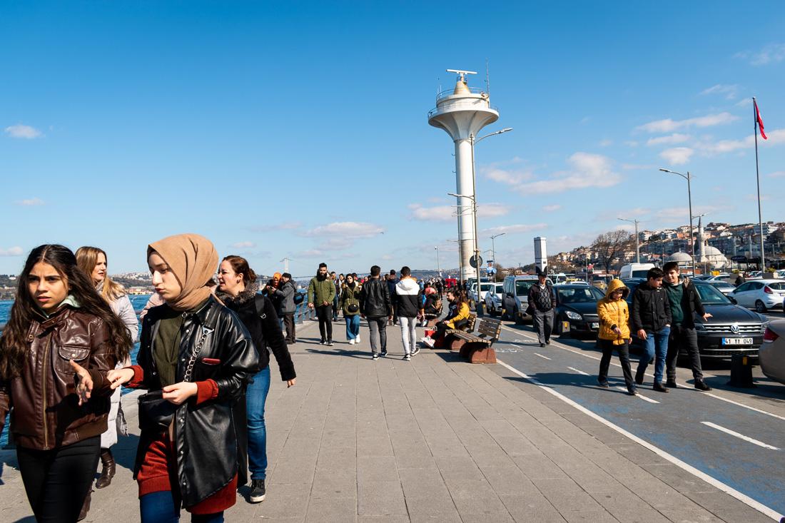 Стамбул за 3 дня: набережная Uskudar