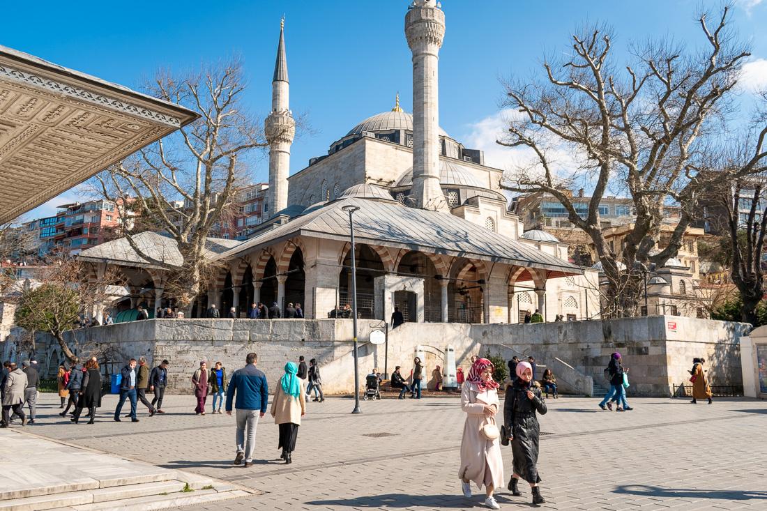 Стамбул за 3 дня: мечеть Михримах-султан
