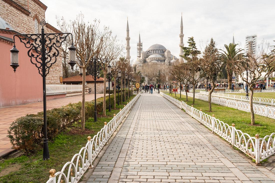 Стамбул за 3 дня: Голубая мечеть