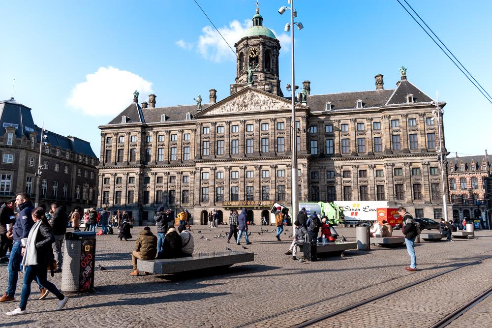 Амстердам за 2 дня: площадь Damm