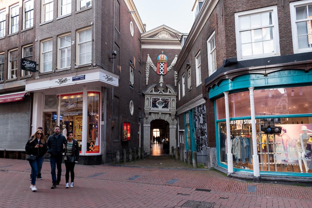 Амстердам за 2 дня: улица Kalverstraat
