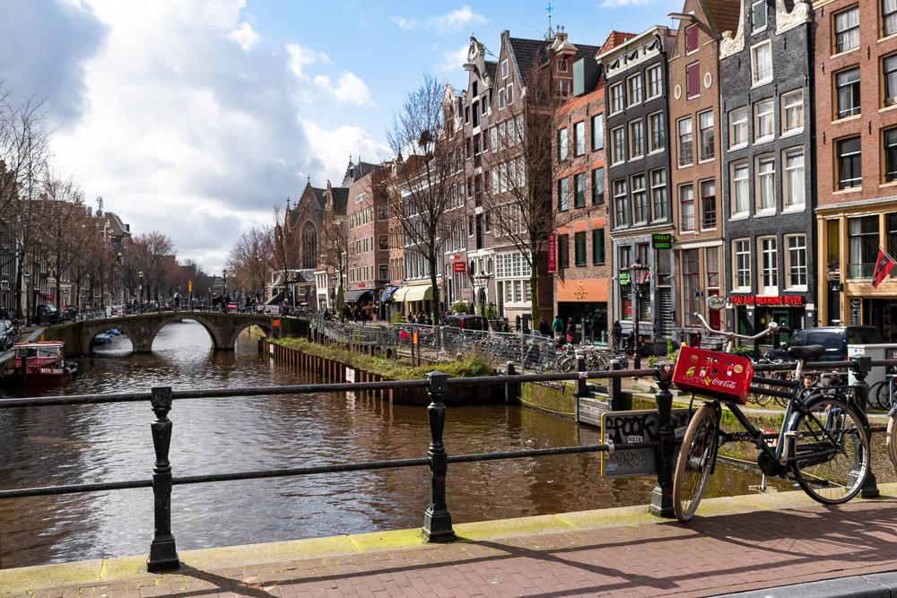 Амстердам за 2 дня: канал Voorburgwal