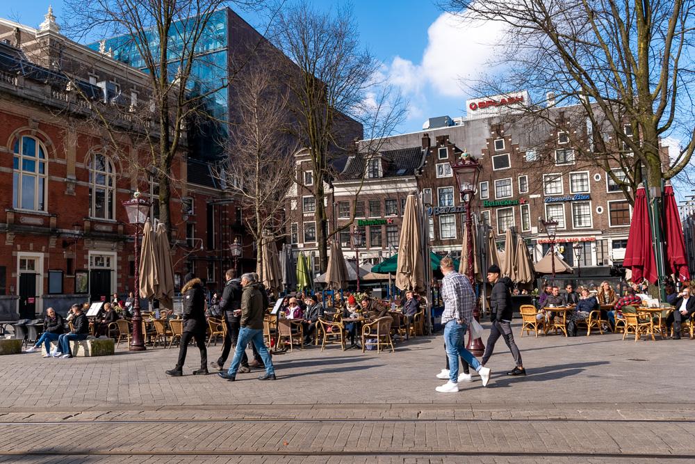 Амстердам за 2 дня: площадь Leidseplein