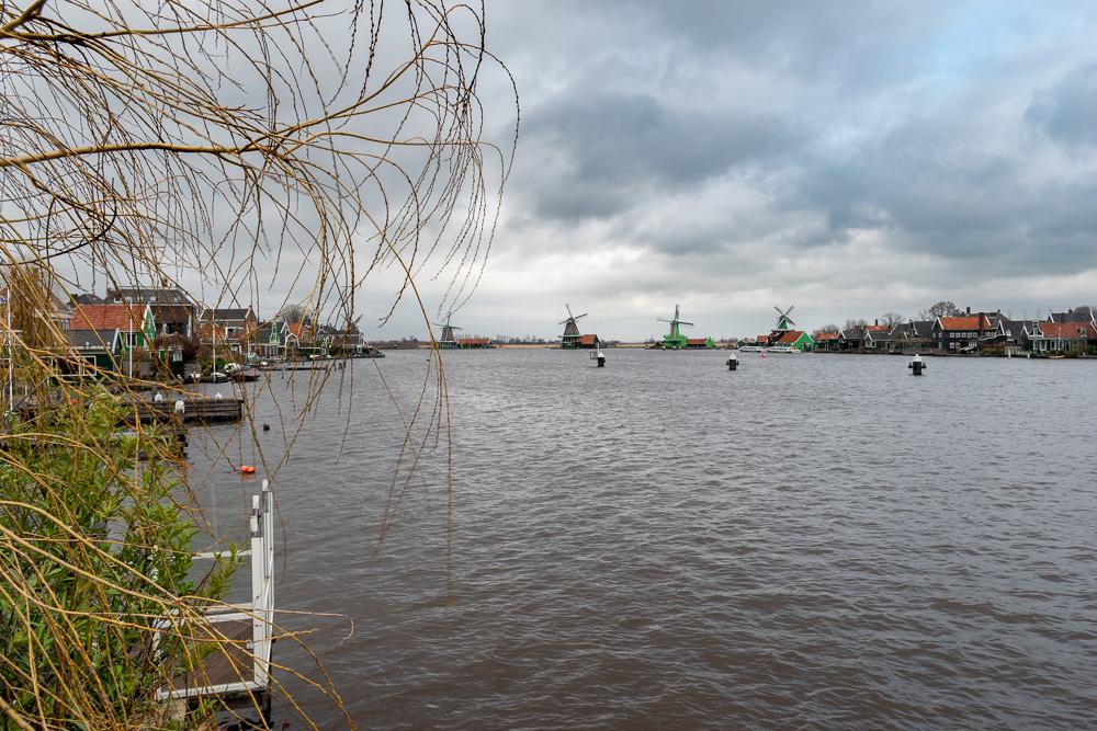 Заансе-Сханс, Голландия: мельницы
