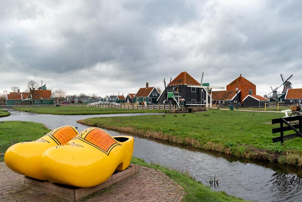 Заансе-Сханс, Голландия: мастерская кломпов