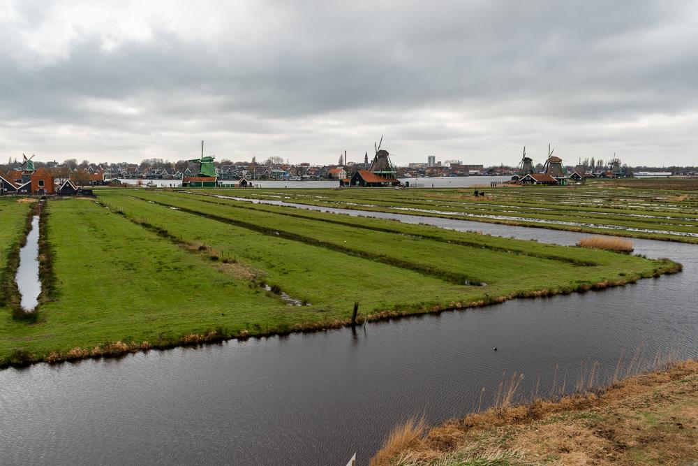 Заансе-Сханс, Голландия