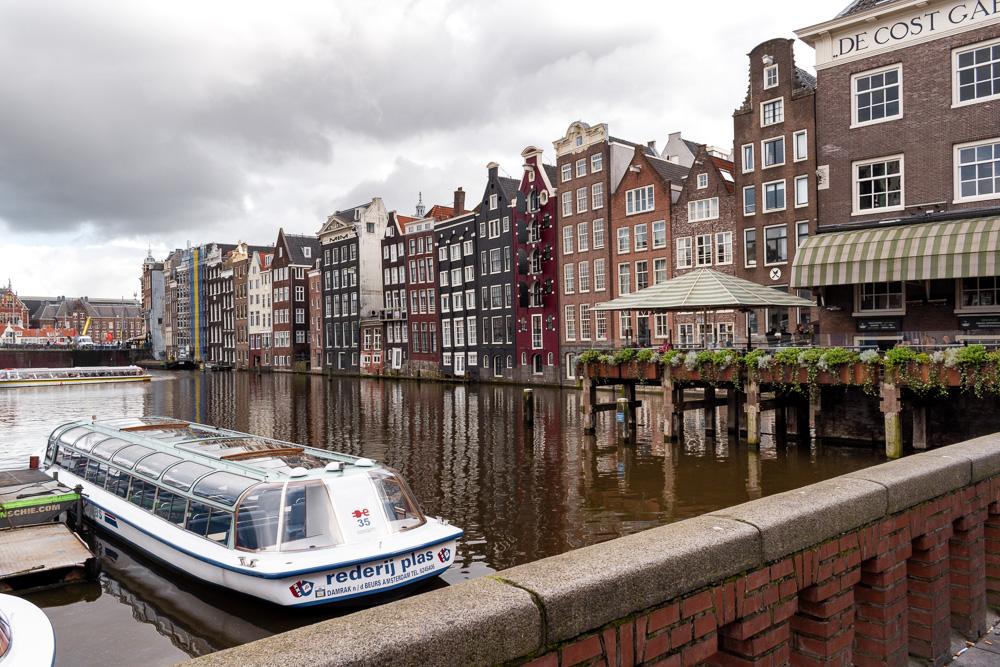 Амстердам за 2 дня: улица Damrak
