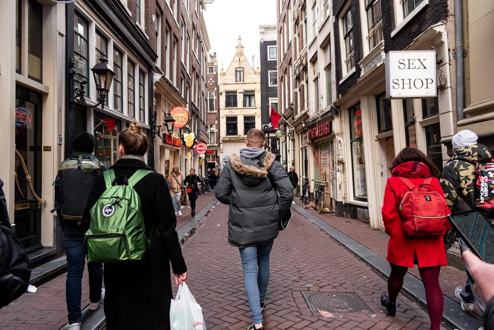 Амстердам за 2 дня: квартал красных фонарей