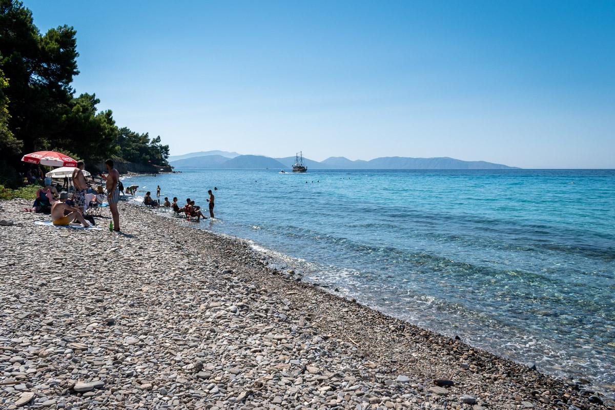 Национальный парк Дилек: пляж Kalamaki