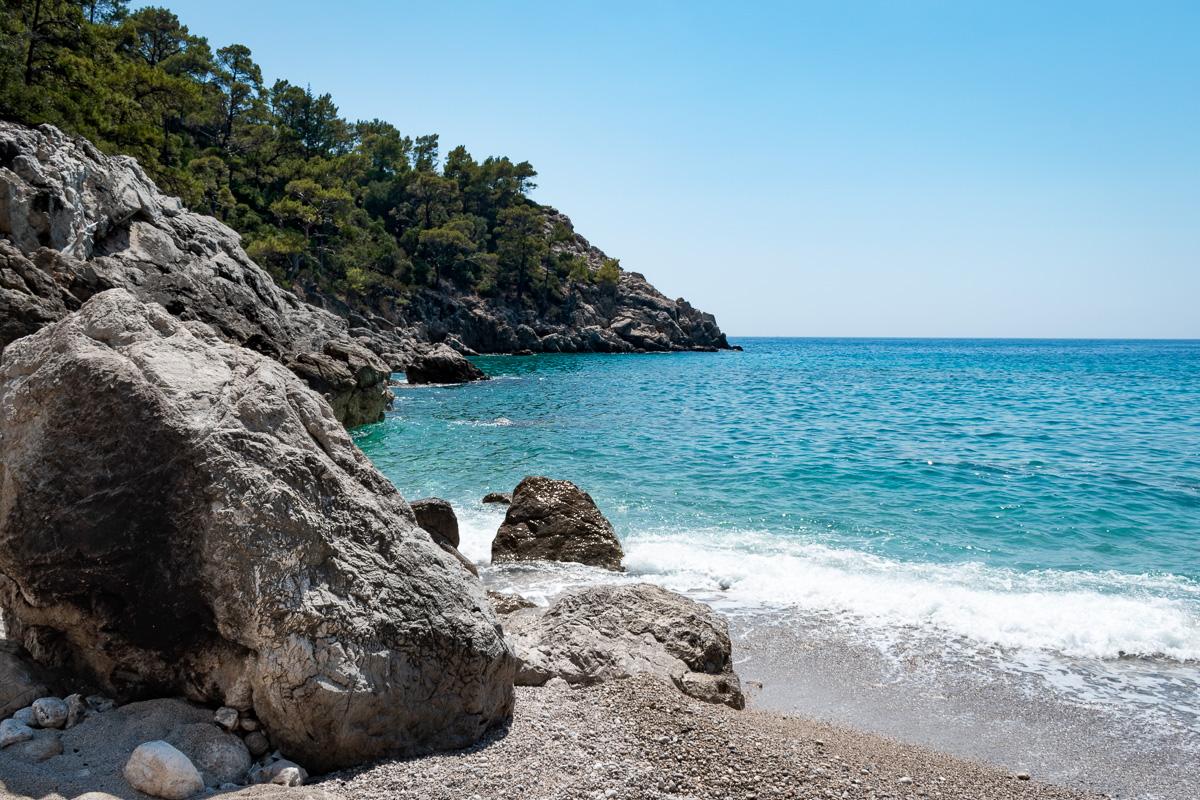 Пляж Кабак, Турция: поход к пляжу Paradise