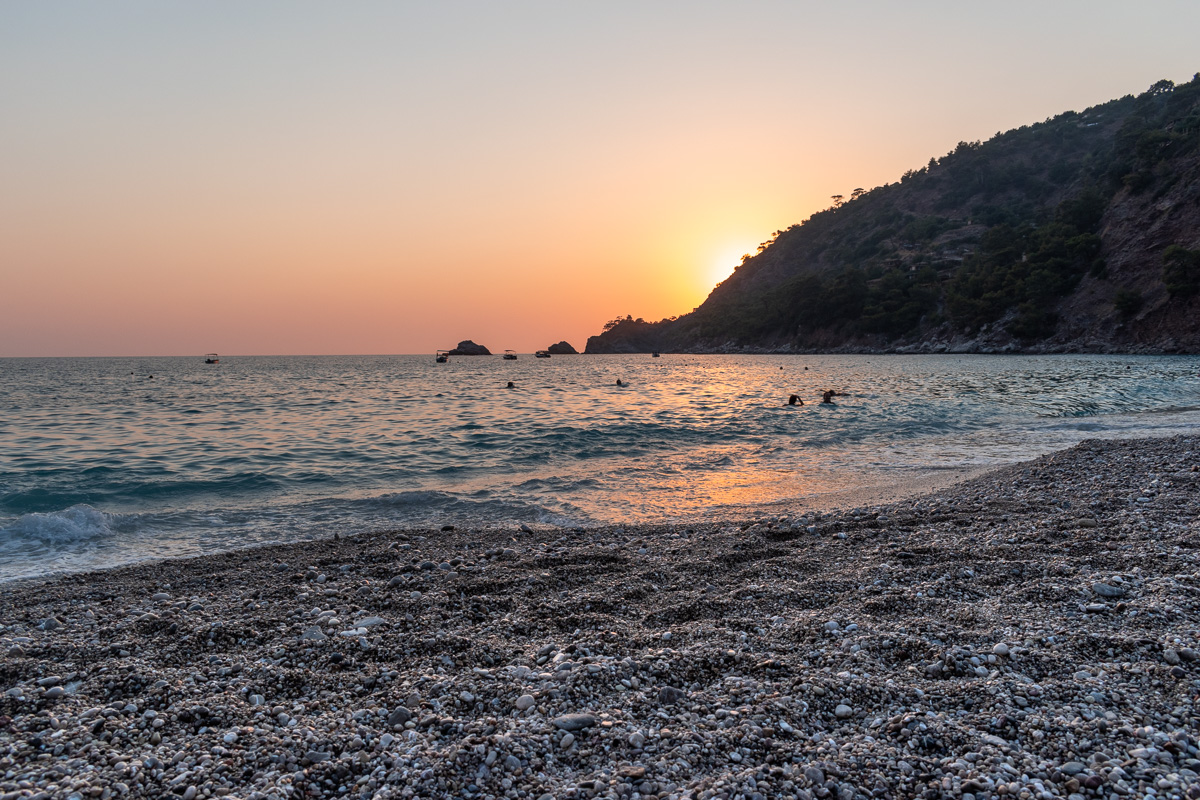 Пляж Кабак, Турция