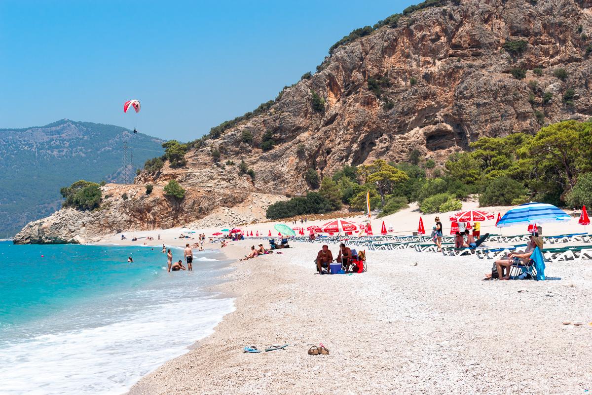 Олюдениз, Турция: пляж Kidrak