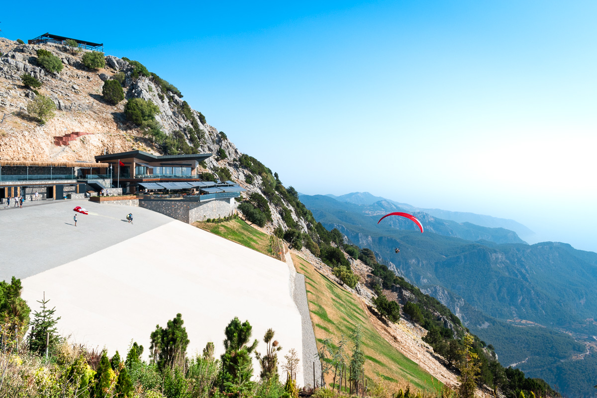 Олюдениз, Турция: гора Babadag