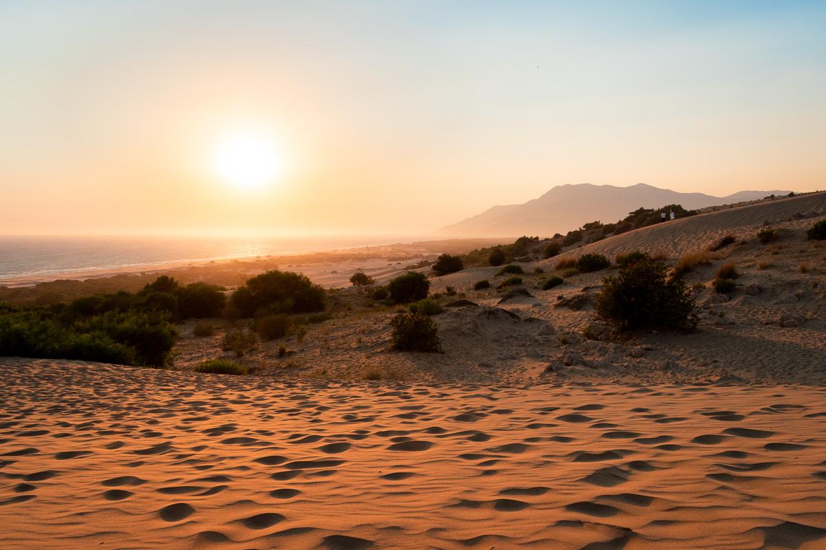 Патара, Турция: дюны