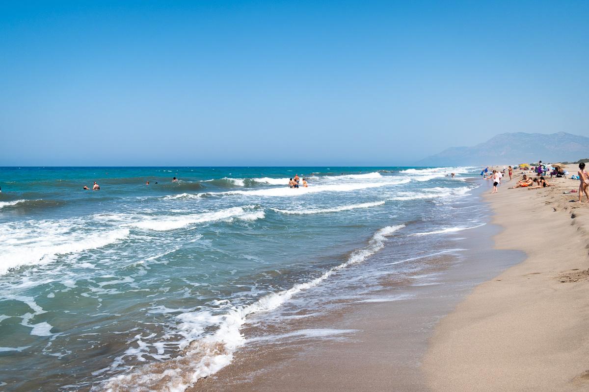Патара, Турция: пляж