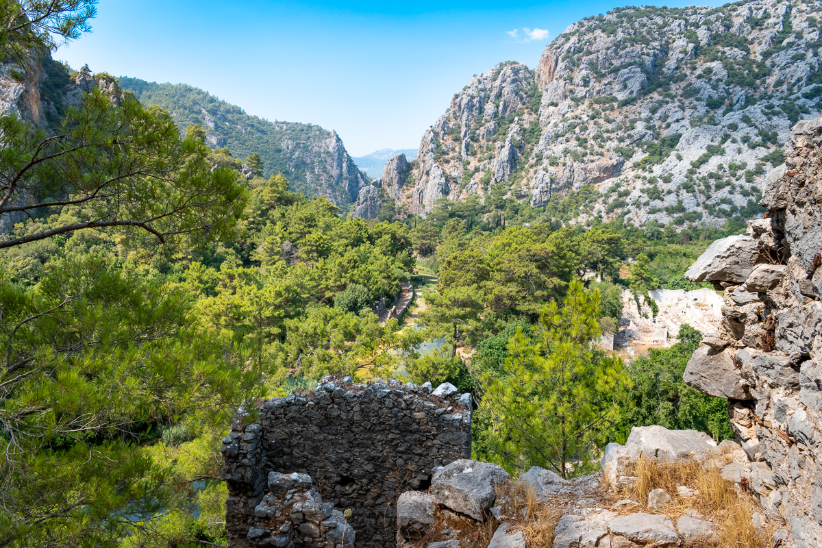 Чиралы, Турция: руины Олимпоса