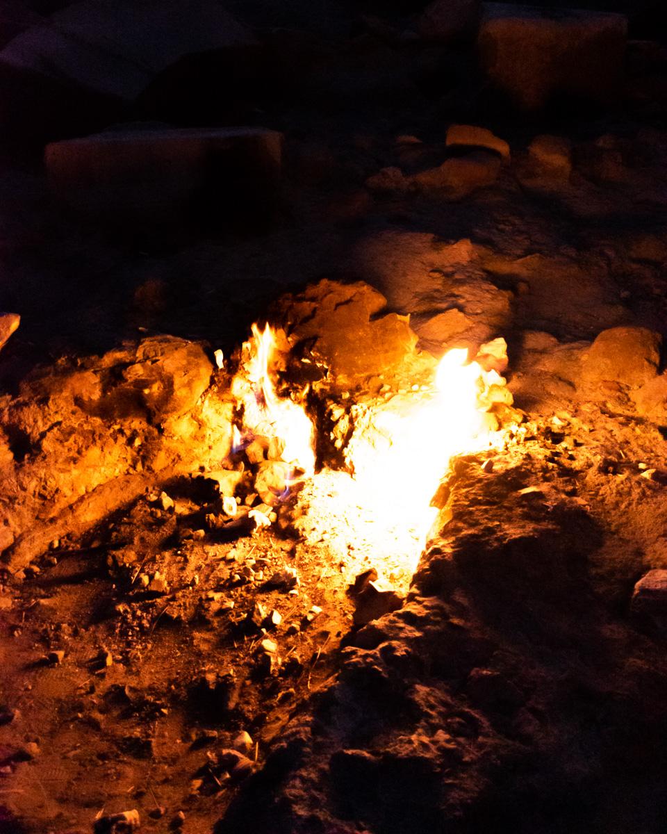 Чиралы, Турция: огни Химеры