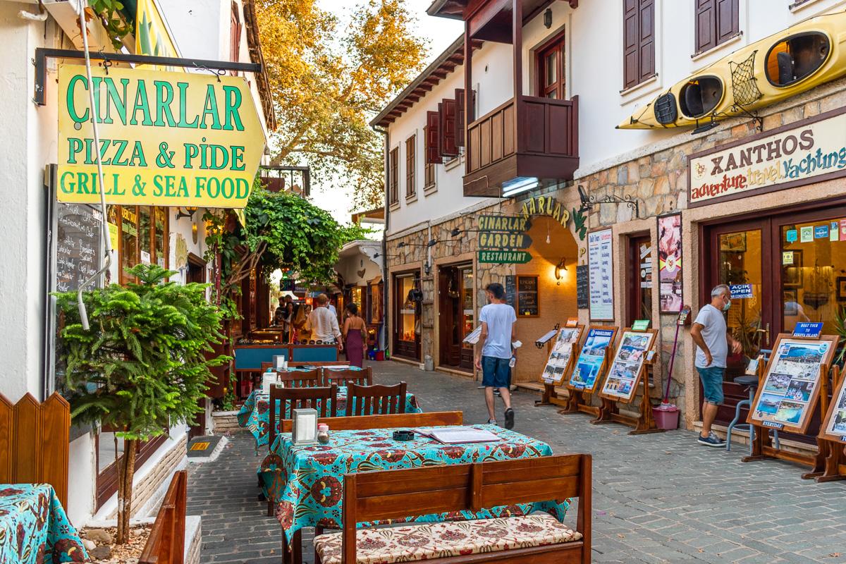 Каш, Турция: старый город