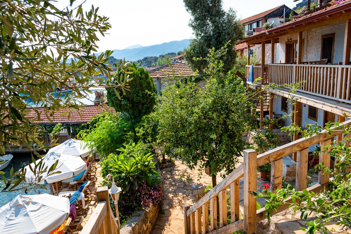 Каш, Турция: деревня Kalekoy