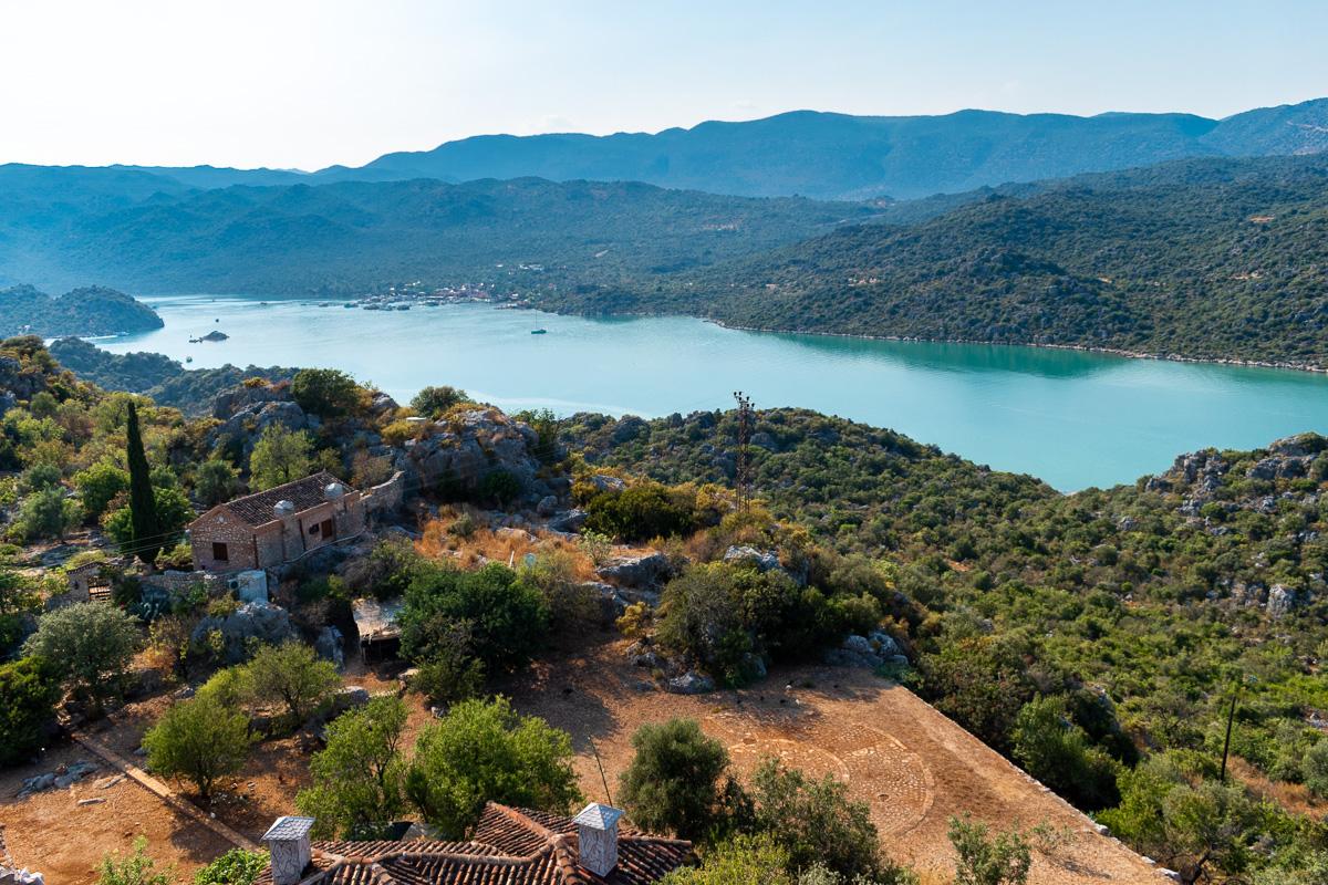Каш, Турция: крепость Simena