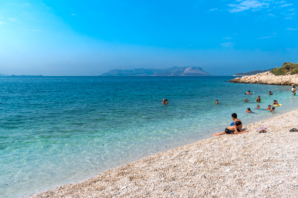 Каш, Турция: пляжи