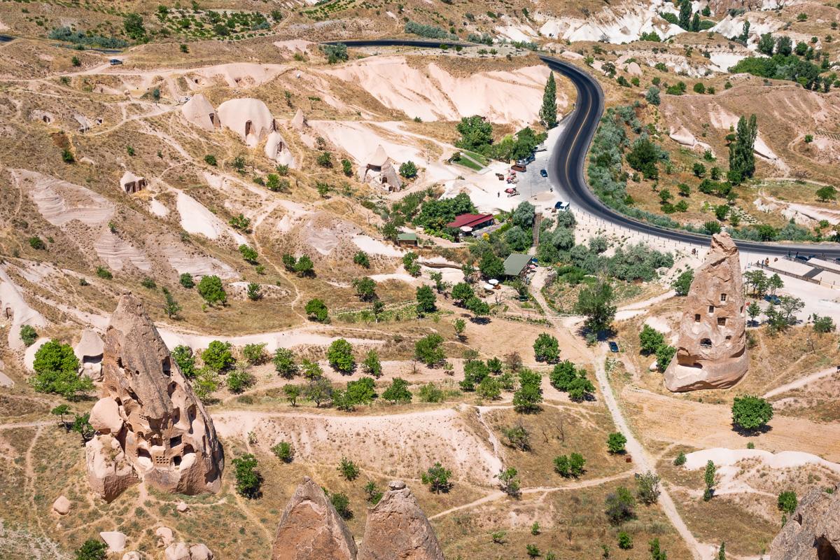 Каппадокия самостоятельно: крепость Учхисар