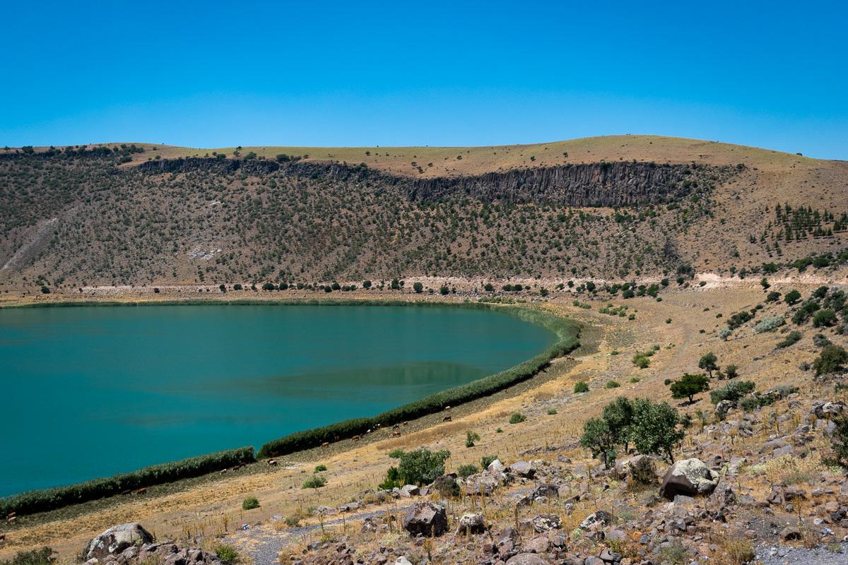 Каппадокия самостоятельно: озеро Narlıgöl