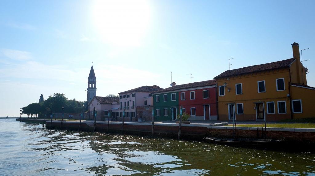 Италия: остров Бурано